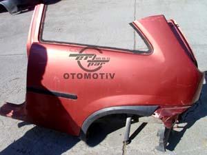 Opel Corsa C  Sol Arka Çeyrek Panel Sacı