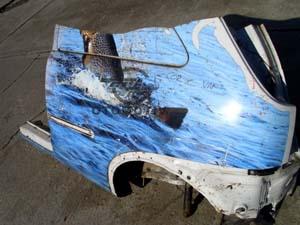 Opel Corsa C Van Sol Arka Çeyrek Sacı