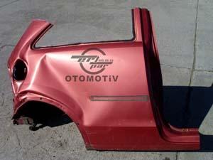Opel Corsa C  Sağ Arka Çeyrek Panel Sacı